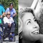 Casal inseparável, após mais de 60 anos casados, Kirk Doulgas, 101 anos, e a mulher, 99, conhecem a bisneta