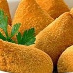 Deliciosa coxinha livre de fritura e massa calórica