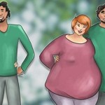 Casais que se amam de verdade, tendem a engordar juntos