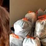 Filhas adolescentes recusam-se a limpar o quarto, então a mãe coloca tudo em sacos e cobra taxas para a devolução