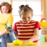 Pais que envolvem seus filhos nos afazeres domésticos; farão deles adultos de sucesso