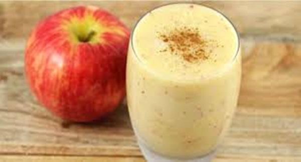 Batida de maçã, aveia e limão; emagrece e faz uma limpeza no organismo