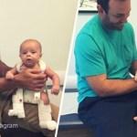 Esse bebê foi vítima de abuso infantil, mas encontrou um casal disposto a lutar por sua vida