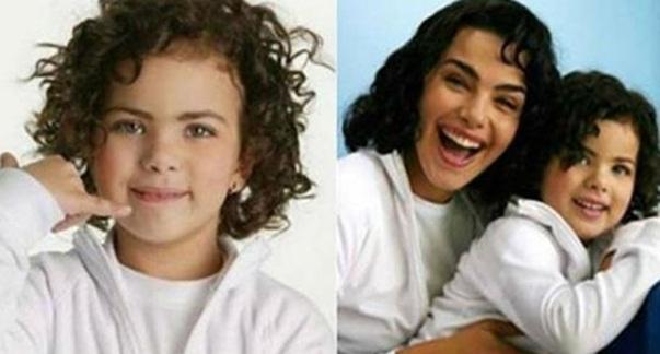 Lembra da mini Ana Paula Arósio? Ela cresceu e ficou ainda mais parecida com a atriz