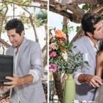 Daniel renova votos de casamento com cerimônia surpresa em praia em Miami