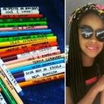 Mãe cola frases de incentivo nos lápis de cor da filha