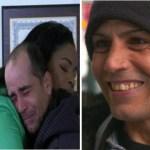 Ele devolveu um cheque equivalente a 37 mil reais que ele encontrou jogado no chão e lhe deram uma casa como recompensa