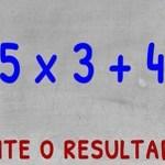 80% das pessoas falham neste cálculo! Será assim tão difícil?