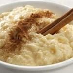 Receita de arroz doce delicioso