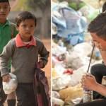 Alunos pagam mensalidade de escola com plástico ao invés de dinheiro