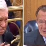 Juiz emociona o mundo ao perdoar multa de trânsito de pai de 96 anos que levava o filho de 63 com câncer ao médico