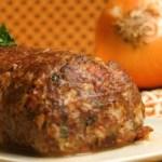 Receita de rocambole de carne moída