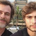 Pai de Rafa Vitti posta foto mostrando semelhança da neta com o pai