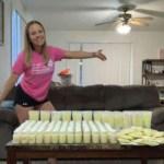 Mãe que perdeu filha doa mais de 100 frascos de leite materno para outros bebês