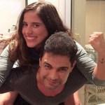 Zezé Di Camargo homenageia a filha, Camila Camargo