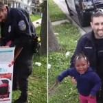 Policial compra cadeirinhas para 5 crianças em vez de multar a mãe delas