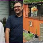 Casal constrói casa a partir de contêineres para ficar livre de dívidas