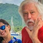 Aos 72 anos, ator Nuno Leal Maia reaparece em rede social com a mulher