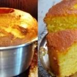 Receita de bolo de laranja fofinho
