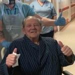 Ele venceu a batalha contra o câncer duas vezes só com um pulmão e agora vence a Covid-19