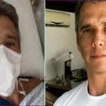 Ator Márcio Garcia sofre acidente doméstico e passa por cirurgia