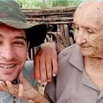 Jovem deixou dois empregos para cuidar da avó de 105 anos por tempo integral