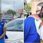 Supermercado dá emprego à mulher que dormia no estacionamento da loja