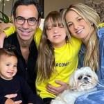 Ticiane Pinheiro aparece em momento especial com o marido e as filhas