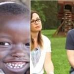 Casal adota menina africana acreditando que era pobre, negligenciada e descobre que ela tinha uma família