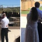 Sogra veste-se de branco e dança com o filho, excluindo a nora durante o casamento