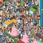 Você é capaz de encontrar a única pessoa sem máscara?