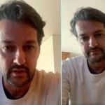 Ator Marcelo Serrado revela que passa por crises de ansiedade durante a pandemia