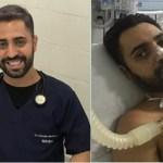 Depois de ficar um mês em coma por Covid-19, médico consegue milagre e volta a atender pacientes: 'Eu renasci'