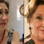 Atriz Beth Goulart chora com saudades da mãe, Nicette Bruno