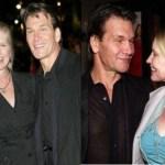 """Esposa de Patrick Swayze, durante 34 anos, diz que as últimas palavras do ator antes de morrer foram: """"Eu te amo""""."""