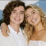 Sasha Meneghel e João Figueiredo se casam no Rio de Janeiro