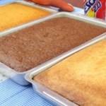 3 receitas de bolo incríveis