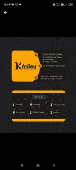 Kleitos Business Card