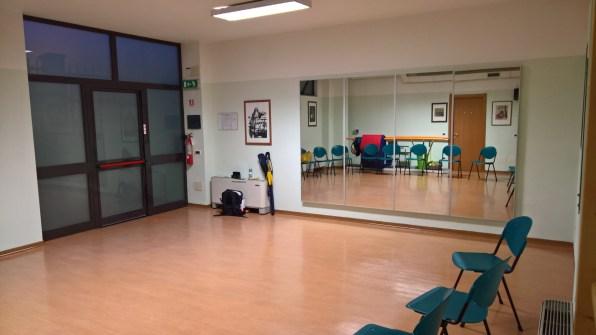 Sede corso - la sala di pratica