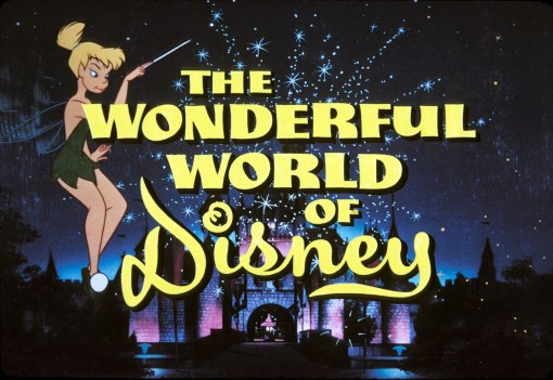 The Wonderful World of Disney logo featuring Tinkerbell