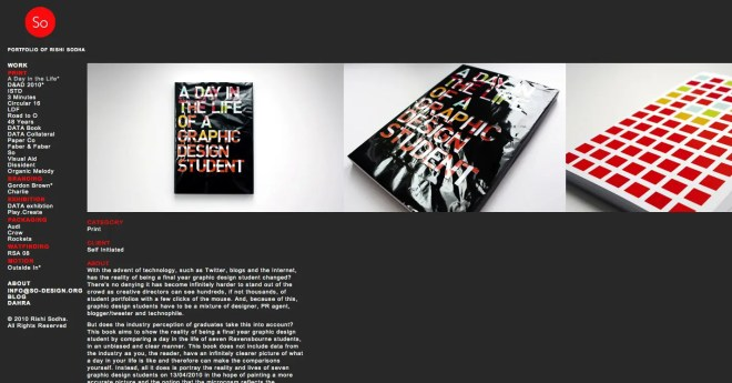 +81の表紙デザインも手がけたデザイナー Rishi Sodha氏 ポートフォリオサイト