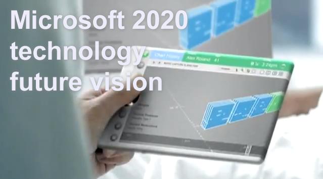 米マイクロソフト社が描き出す2020年の近未来生活とは?