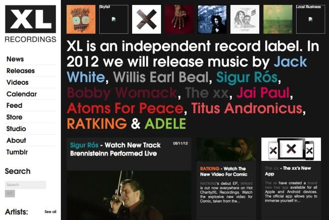 海外音楽レーベルのサイト 11選   WEBサイトデザインまとめ