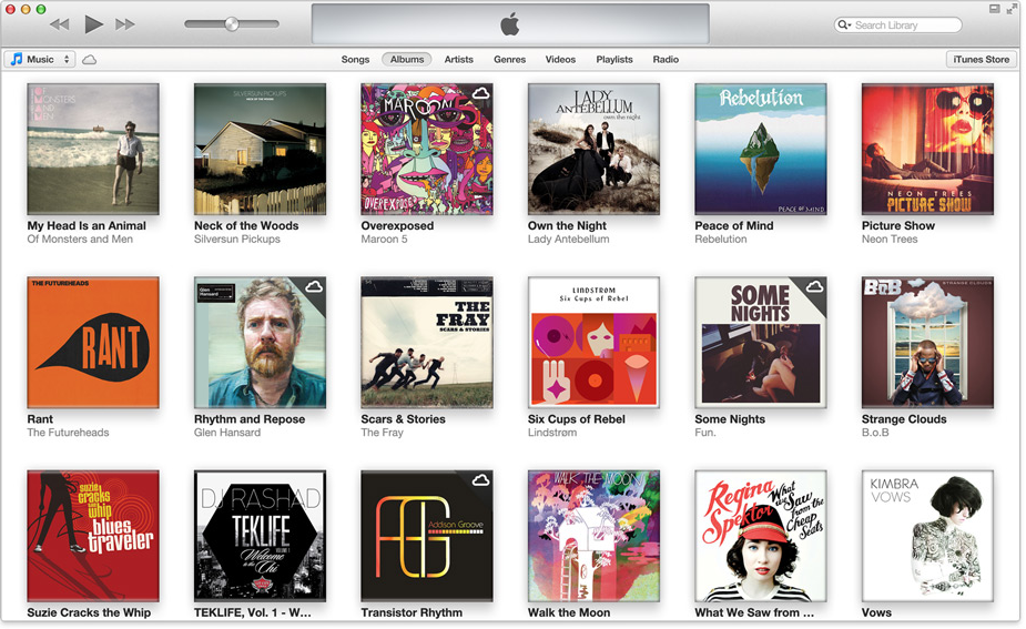 Apple アップル iTunes 11 をリリース
