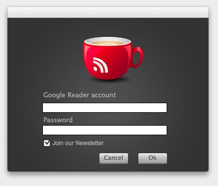 今日はオススメのRSSリーダーをご紹介します。Caappuccino (カプチーノ)の特徴はGoogleリーダーと同期するところ。デザインといい名前といい、かなり可愛くて、すっかり今ではお気に入りのアプリです。使い方は簡単で、Google アカウントでサインインするだけ。