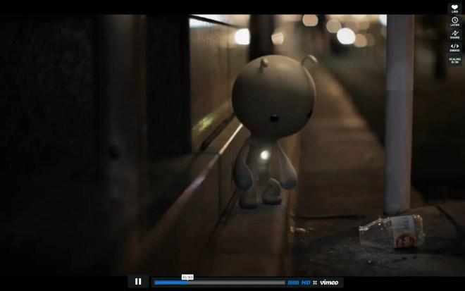 短編フィルム『LITTE KAIJU(リトル怪獣)』 東京に裏路地にかわいい怪獣出現