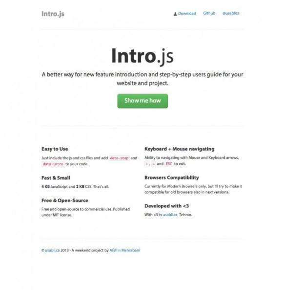 intro.js | 簡単にナビゲーションを実装できる素晴らしいjs
