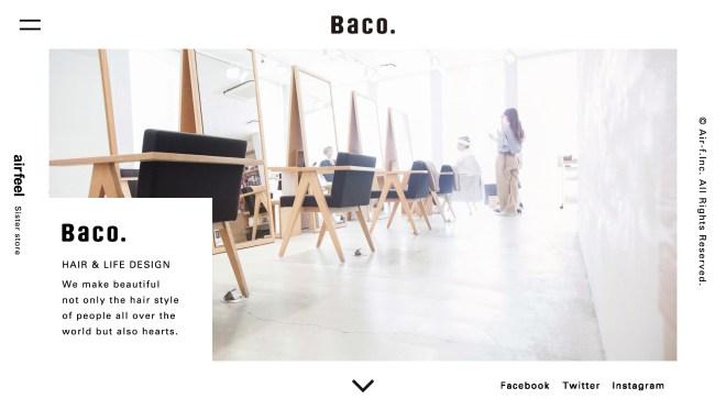 Baco  大阪 心斎橋 南船場の美容室