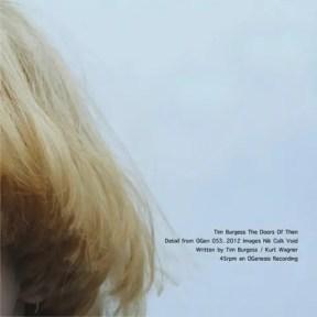 Tim Burgess / The Doors of Then   アートワークがおしゃれなティム・バージェスのシングル (2013年)