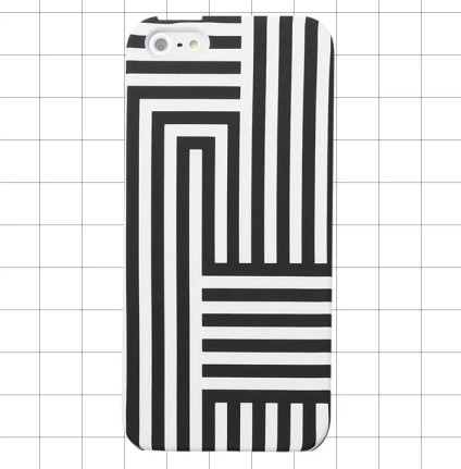 Kate Spade Saturday IPHONE 5 CASE IN SIGNATURE ZIG ZAG